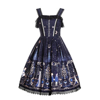 Astrology College ~ Sweet Printed Midi Party Dress Lolita JSK Dress