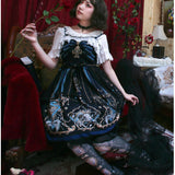 The Redemption of God ~ Gothic Printed Lolita JSK Dress by YLF