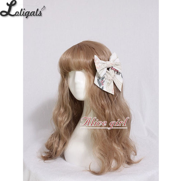 Cage in Dream ~ Sweet Lolita Headbow Cute Lolita Headdress by Alice Girl ~ Pre-order