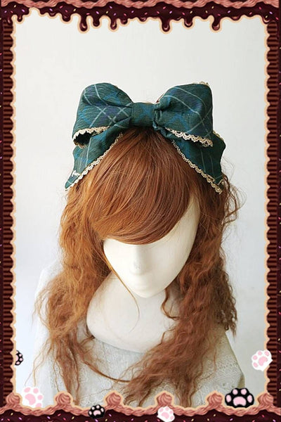 Magic Dictionary ~ Sweet Lolita Headbow by Infanta