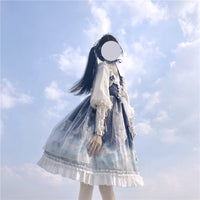 Little Princess ~ Sweet Printed Lolita JSK Dress Short Party Dress