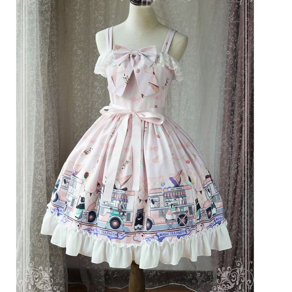Ice Cream Party ~ Sweet Lolita JSK Dress by Magic Tea Party