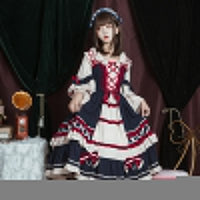 Miss Snow ~ Sweet Lolita JSK Dress Lovely Mori Girl Dress