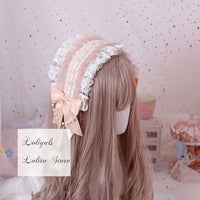 The Letter from Cat ~ Gorgeous Lolita Headband Sweet Mori Girl Headpiece