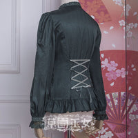 Chipol's Fairytale Land ~ Long Sleeve Lolita Blouse by Strawberry Witch