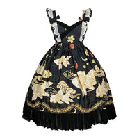 The Witch Fish ~ Kimono Chiffon Lolita JSK Dress by Diamond Honey