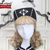 Pre-order ~ Sweetheart Rescue Team ~ Sweet Lolita Headpiece Bonnet Hat by Alice Girl