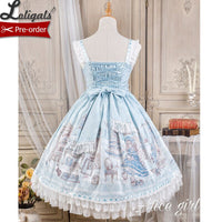 Lady's Room ~ Sweet Printed Lolita JSK Dress by Alice Girl ~ Pre-order