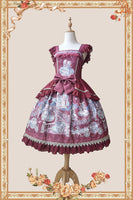 Miss Cat & Mr. Fox ~ Sweet Printed Lolita JSK Dress by Infanta