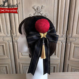 Magpies Leaving the Branch ~ Vintage Lolita Hair Clip by Alice Girl ~ Pre-order