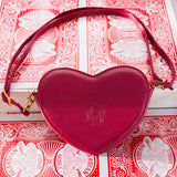 Chess & Cards ~ Sweet Heart Shaped Lolita Bag Crossbody Mini Bag by Classical Puppets