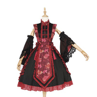 Fish in Dream ~ 2020 Qi Style Lolita Dress w. Detachable Sleeves by Magic Tea Party