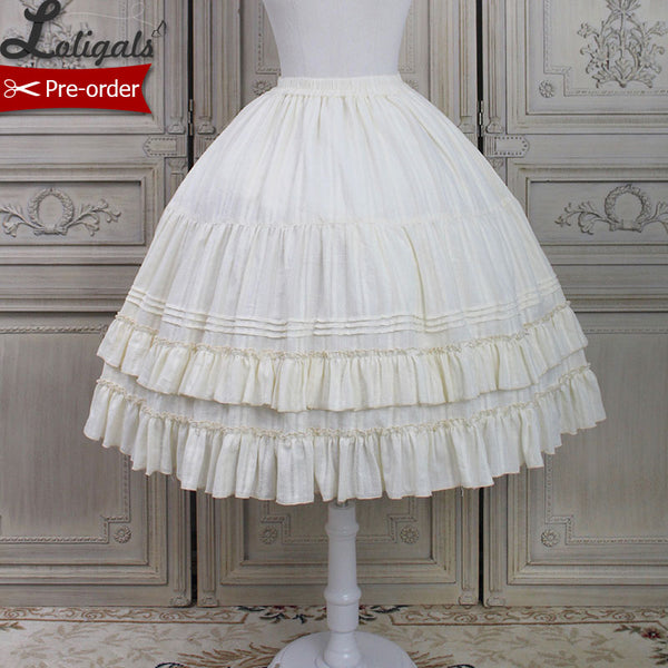 Kitten & Flowers ~ Sweet Lolita Petticoat Ball Gown Underskirt by Alice Girl ~ Pre-order