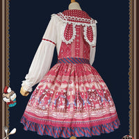Animal Show ~ Sweet Lolita Salopette Dress by Infanta