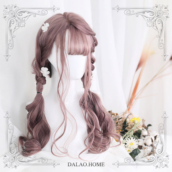 Dolles ~ Harajuku Long Wavy Lolita Wig with Curly Bangs