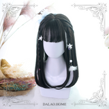 Harajuku Medium Length Straight Wig Cosplay Wig