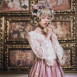 The Poem of Roses ~ Sweet Lolita Lace Cardigan Top by Miss Point ~ Pre-order