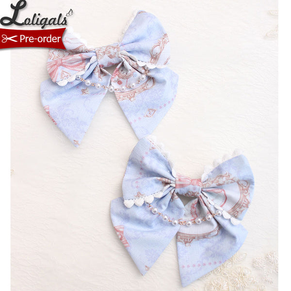 Kitten in the Frame ~ Sweet Lolita Hair Clip by Alice Girl ~ Pre-order