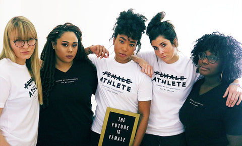Playa Society - The Future is Female - Athlete T-shirt