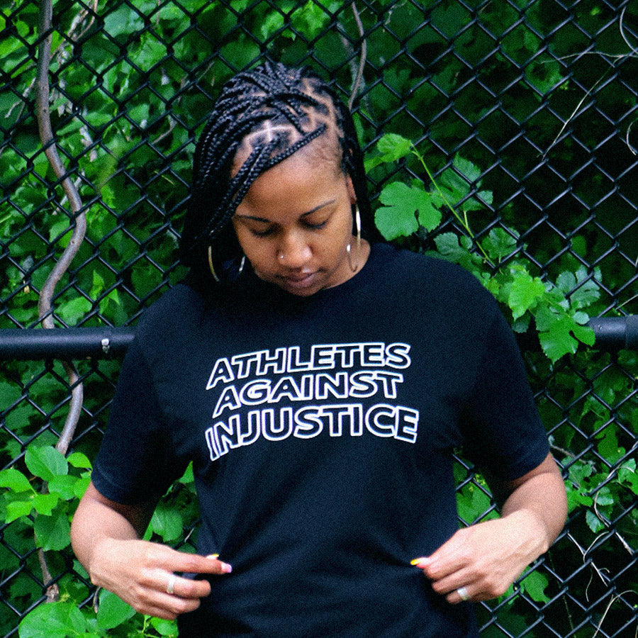 Athletes Against Injustice T-shirt by Playa Society