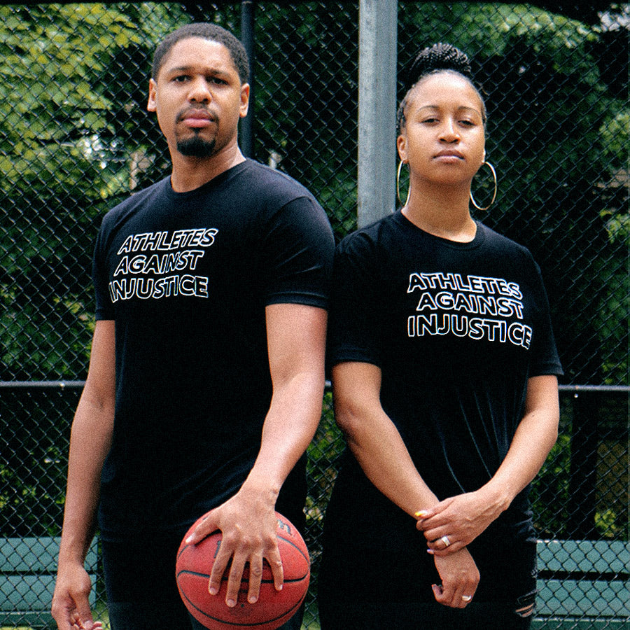 Athletes Against Injustice by Playa Society