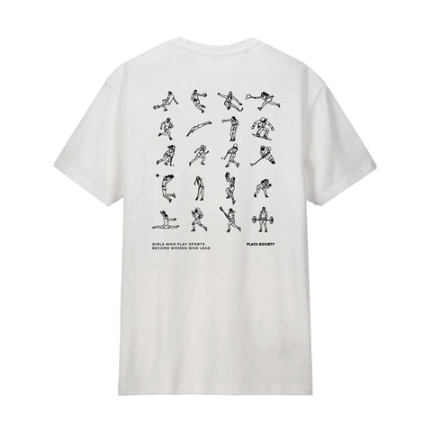 Youth Girls Who Play Sports T-shirt