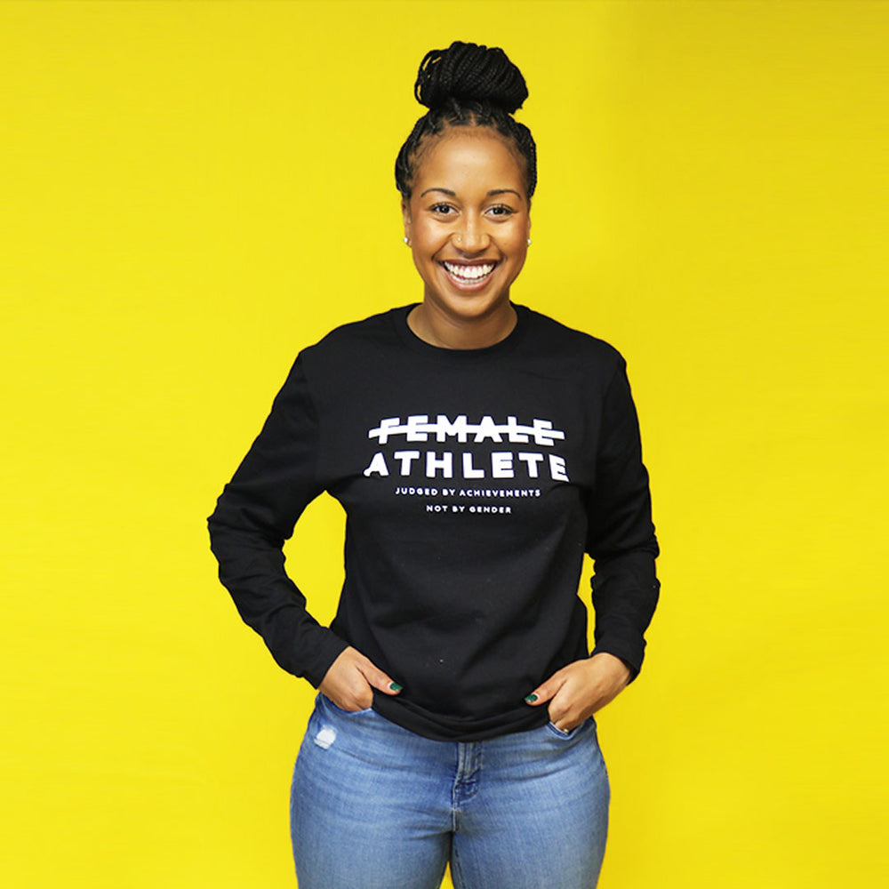Female Athlete Long-sleeve T-shirt by Playa Society