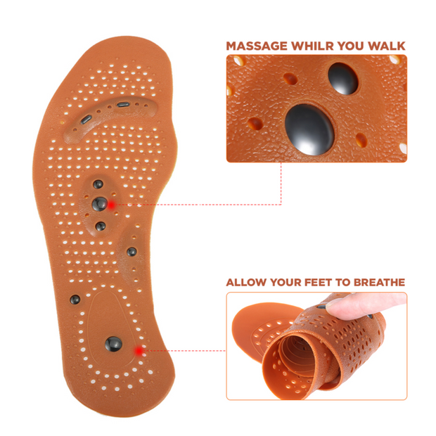 Magnetic Acupressure Insoles - Nextelect