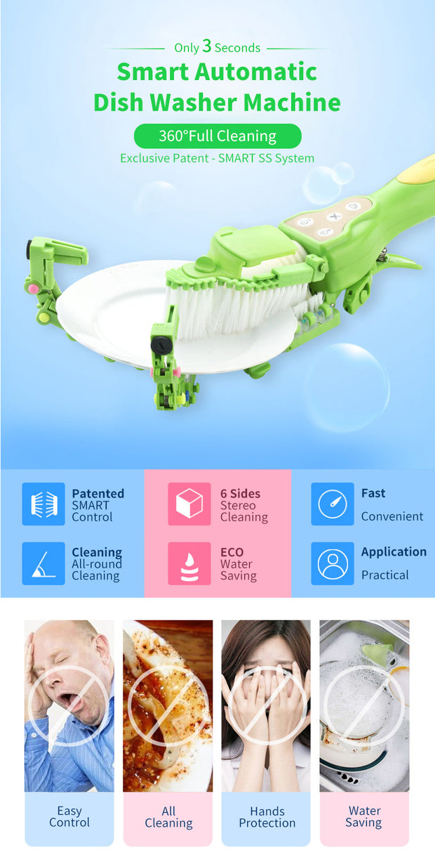 Handheld Automatic Dishwasher - Nextelect
