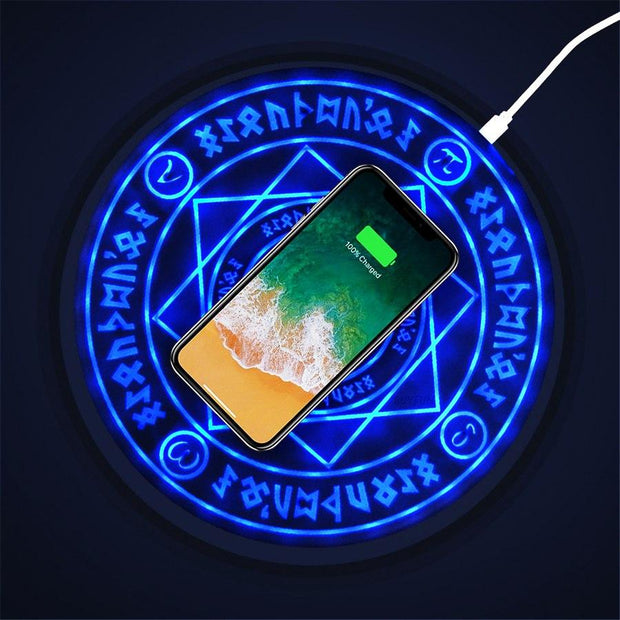 Mystical Wireless Charging Pad For iPhone/Samsung/Huawei