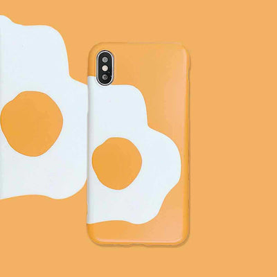 Funny Poached Egg Phone Case For iPhone