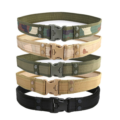 Canvas Hunting Outdoor Utility Adjustable Belt - Nextelect
