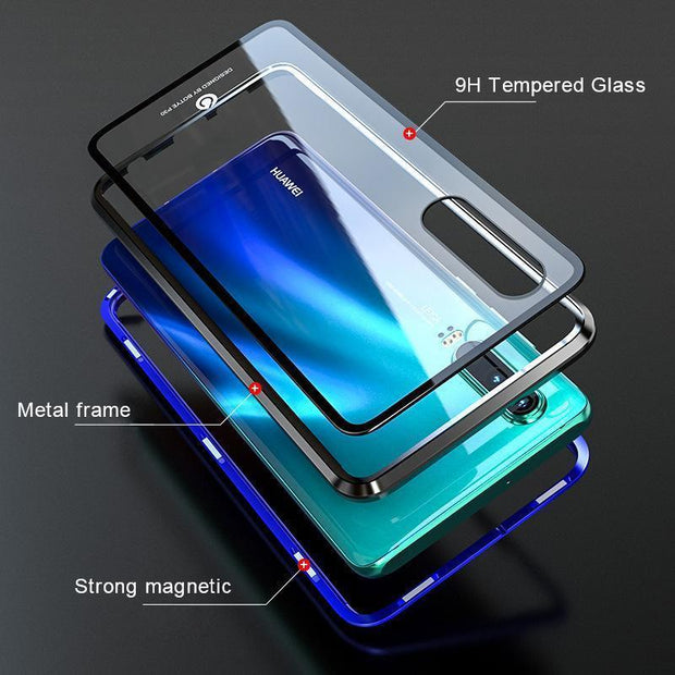 Luxury Full Body Protective Magnetic Case For Huawei