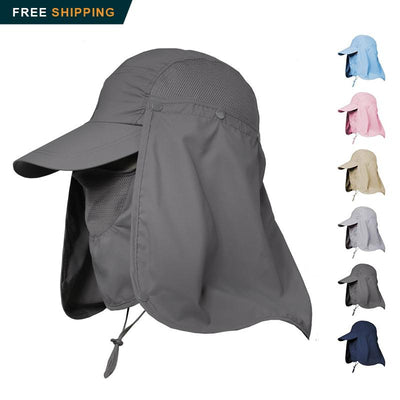 Outdoor 360 UV Protection Fishing Cap - Nextelect