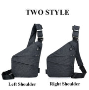 Lightweight Anti-theft Waterproof Sling Bag - Nextelect