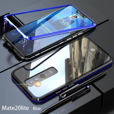 Magnetic Transparent Phone Case for Huawei