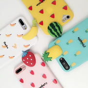 Cute Fruits Pattern Phone Case For iPhone