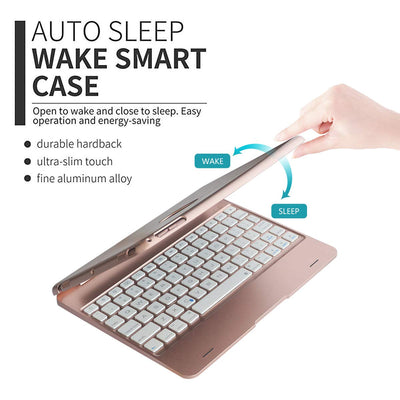 Bluetooth Cover iPad Keyboard