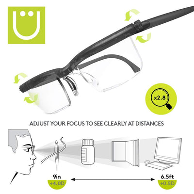 Adjustable Lens Eyeglasses - Nextelect
