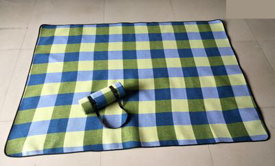 Thicken Acrylic Plaid Picnic Mat - Nextelect