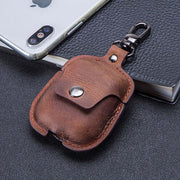 Leather Protective Cover AirPods Case