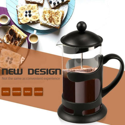 1000ML  Resistant Glass Coffee Maker - Nextelect