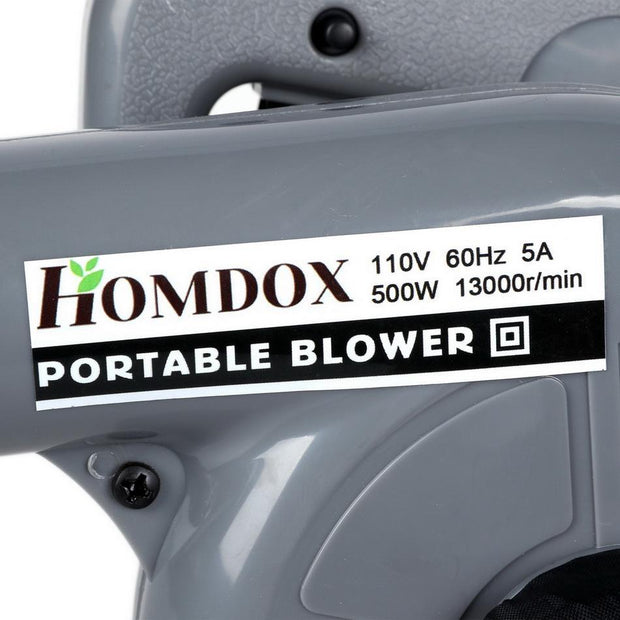 Homdox 500W Electric Waste Leaf  Sweep - Nextelect