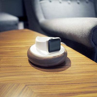 Wooden Apple Watch Charging Dock - Nextelect