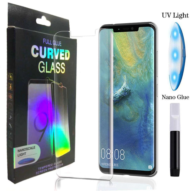Nano Liquid UV Vision Protection Tempered Glass for Huawei Mate 20 Pro