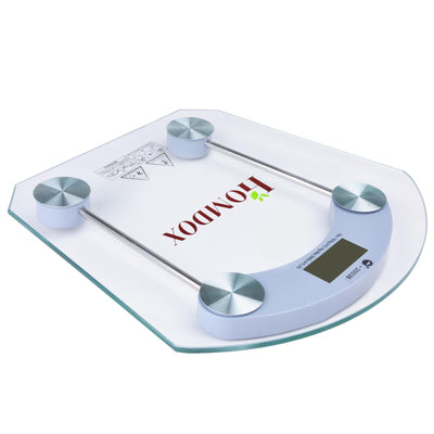 HOMDOX High Precision  Glass Body Weight  Scale - Nextelect