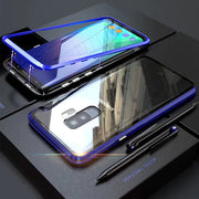 Magnetic Transparent Phone Case For Samsung