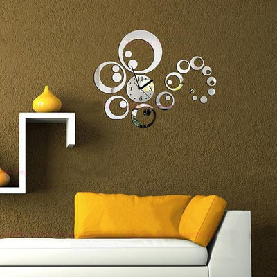 3D DIY Circle Wall Stickers Clock - Nextelect