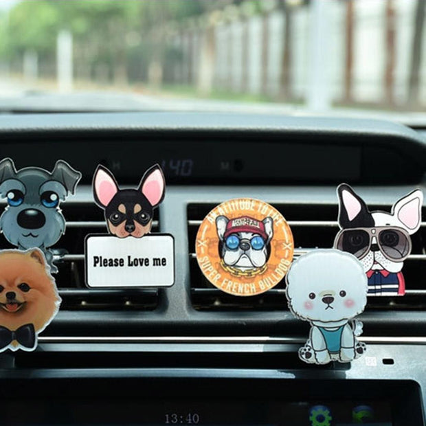 Car Perfume Scent Clip Air Freshener - Nextelect
