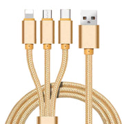 3 in 1 USB Charging Data Cable - Nextelect